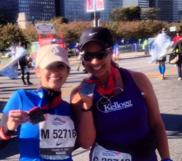 Ana Vazquez and Her Daughter Finish the 2013 Chicago Marathon