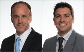 Jaime Valles and John John, EMP 101's newly elected cohort ambassadors.